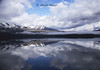 L MacDonald reflections Glacier National Park