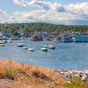 Welcome to Rockport, Massachusetts.  This was our first stop on our way to Acadia National Park.  We stayed one day here. Rockport attracts many artists and photographers.  My wife and I stayed at a wonderful bed and breakfast called the Tuck Inn.