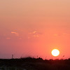 Sunset, Mustang Island State Park, TX, September, 2011
