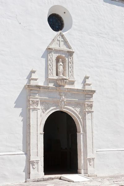 Chapel Doorway, Mission Nuestra Senora del Espíritu Santo de Zuniga Goliad State Park & Historic Site, Goliad, TX September, 2011