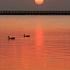 Sunrise on the bay, Rockport, TX - September 2011