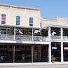 Shops on the Goliad town square, Goliad, TX September, 2011