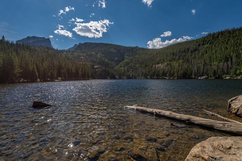 Bear Lake and Hallett Peak
