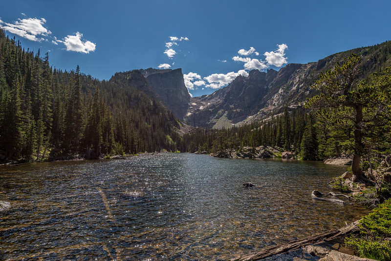 Dream Lake; Hallett Peak above