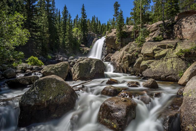 Alberta Falls, Glacier Creek