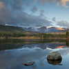 Sunrise at Sprague Lake..this lake was on a different path. It too was easy to access once you were in the parking lot.