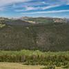 Cache La Poudre River and Specimen Mountain from Medicine Bow Curve