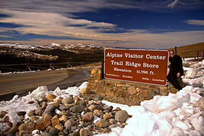 Highest altitude visitor center in the national park system