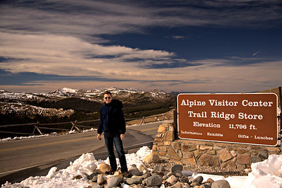 Highest altitude visitor center in the national park system