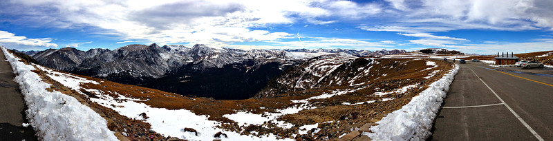Trail Ridge Road (US 34) - highest paved road in the US