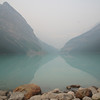 Reflections in Moraine Lake. Alberta