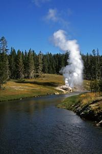 Firehole River & Geyser