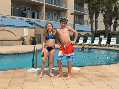 Rodney's trip to Gulf SHores April 2018