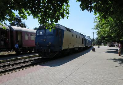 Met de trein naar Constanta