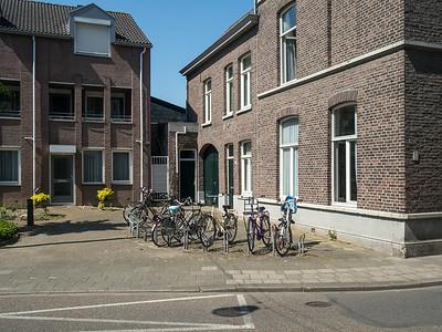 Bikes in corner
