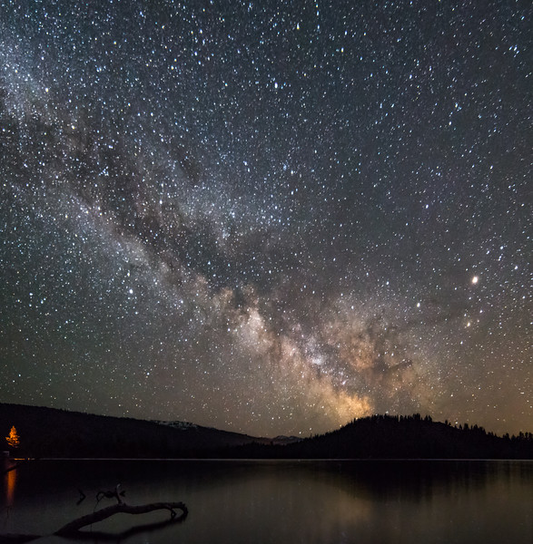 Milky Way Over Payette Lake