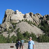 Mount Rushmore, pre-river, on the way out to Three Forks.