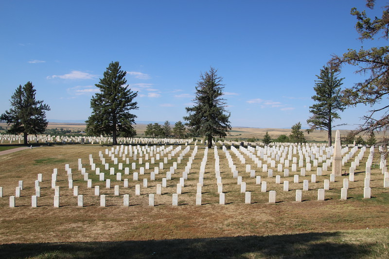 "Graveyard at the site.  Honors soldiers killed here, but also all soldiers in the ""indian wars'."