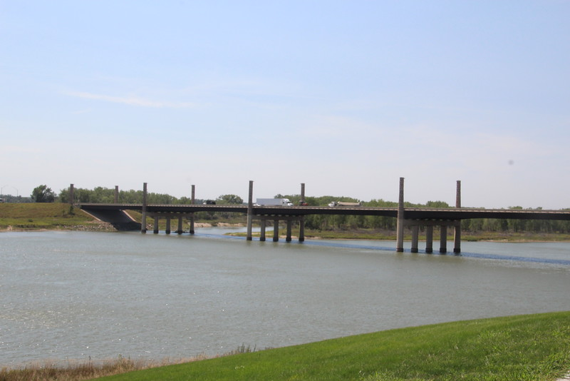 Bridge 40, from base of Bridge 41.