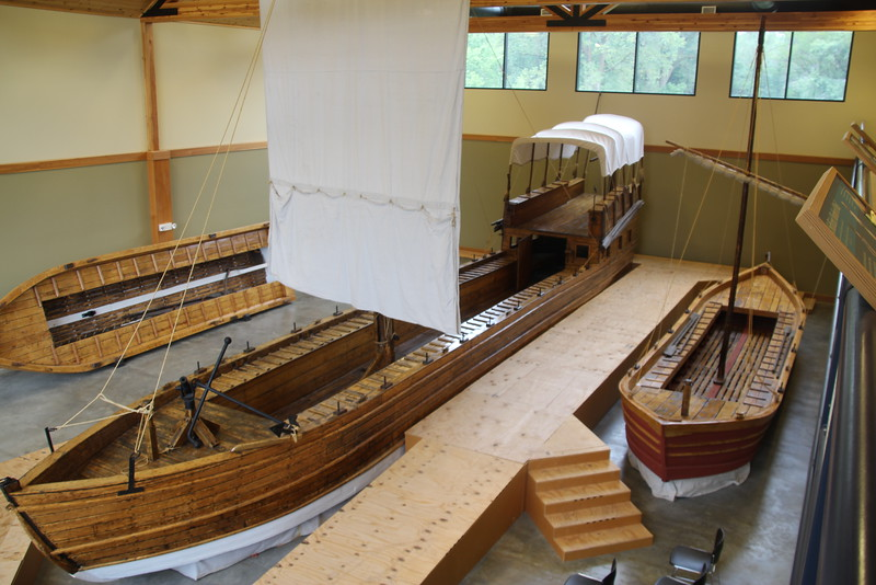 All the boats in the Keelboat Museum in Onawa, IA are Butch's.  (Minor exception to the middle one here - long story).