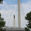 Omaha/Council Bluffs Pedestrian Bridge.  Bridge #49.