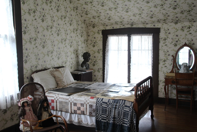 The room in which Amelia was born.