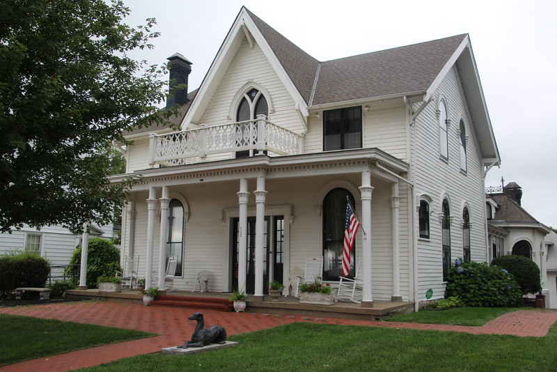 The home of Alfred and Amelia Otis, Amelia Earhart's grandparents, where Amelia was born.