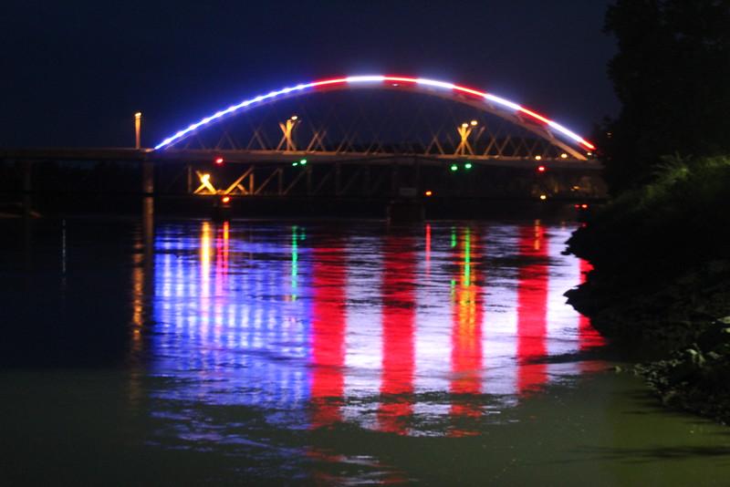 Amelia Earhart Memorial Bridge in Atchison, KS