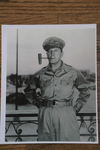 MacArthur's famous pipe, was a special model, made here.