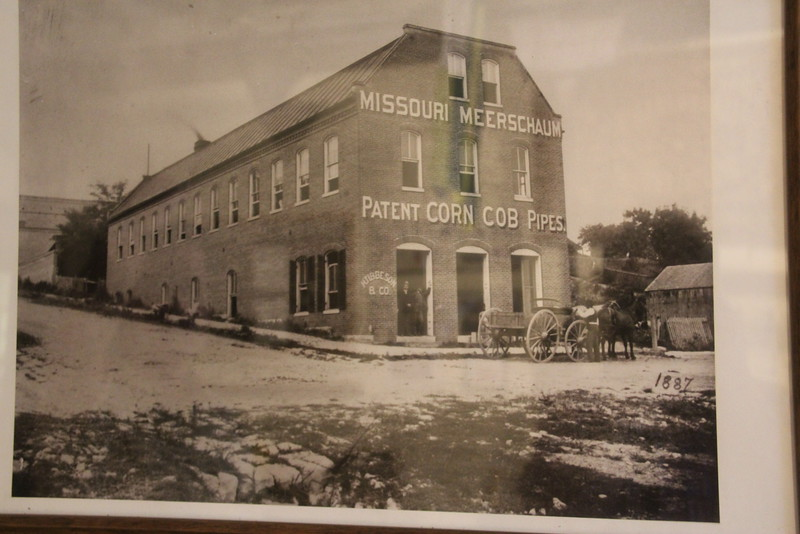 An 1887 picture (note the date) of the original building.