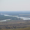 Just after the Milk/Missouri confluence, now headed for North Dakota (through upper MT)