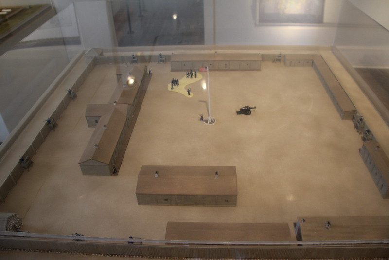 Model of the Early Fort