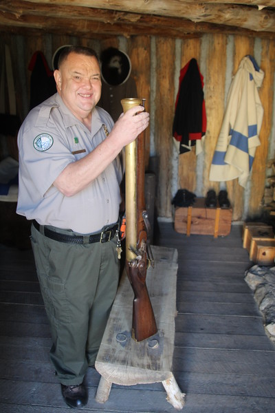 "The ""Blunderbuss"".  Often used to impress the Native Americans along the River."