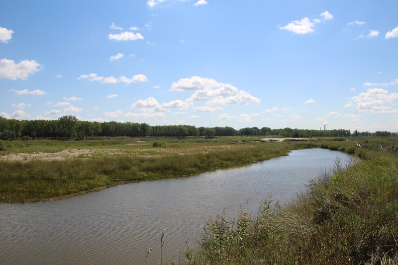 The confluence of the Knife River with the Missouri??