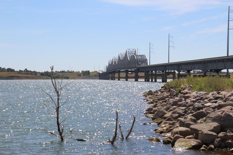 Bridge #33, over Missouri/Lake Oahe at Mobridge, SD
