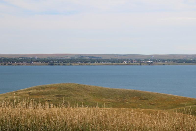 SD Reservoir 1:  Lake Oahe.  Mobridge, SD.