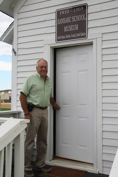 Dave Bonde, Executive Director of FPDC, and my morning's host, let me inside to view.