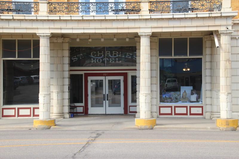St. Charles Hotel - Front Entrance