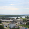 The Site also offers marvelous views of Ft. Pierre, and the River flowing south out of it.