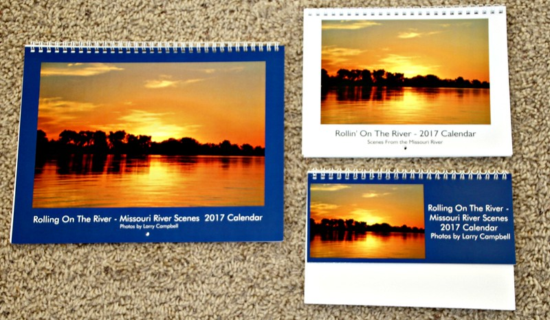 Wall Calendar (left); Mini Wall Calendar (Upper Right); or Desk Calendar (Lower Right).  Prices are $12, $8, and $6 respectively.