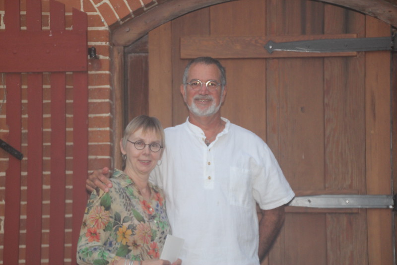Gary Leabman and Marsha Nyberg - Great Hosts, New Friends!  Hermann, MO