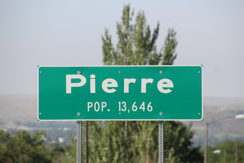 Are you ready for this?  The town is pronounced (at least here) as PEER.  (Same with Ft. Pierre).