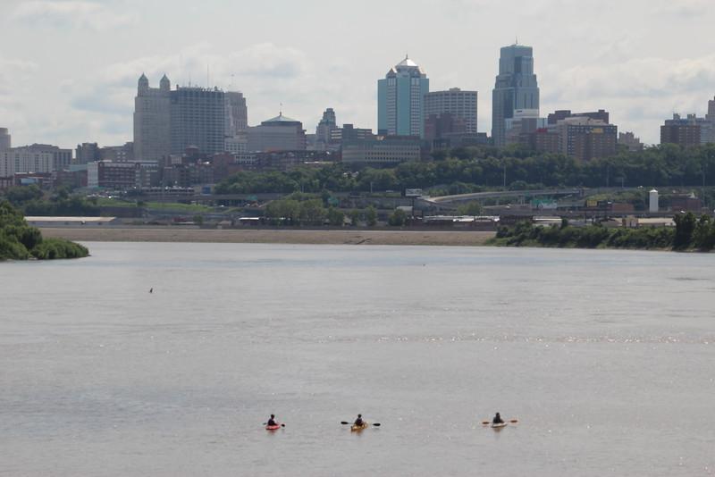 Confluence, Skyline, & Kayakers