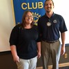 Kerry Hacecky (Program Chair) and Simon Fuller (President), my contacts at Yankton, SD Rotary Club