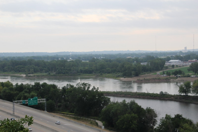 Sioux City, IA - Three states, two rivers.