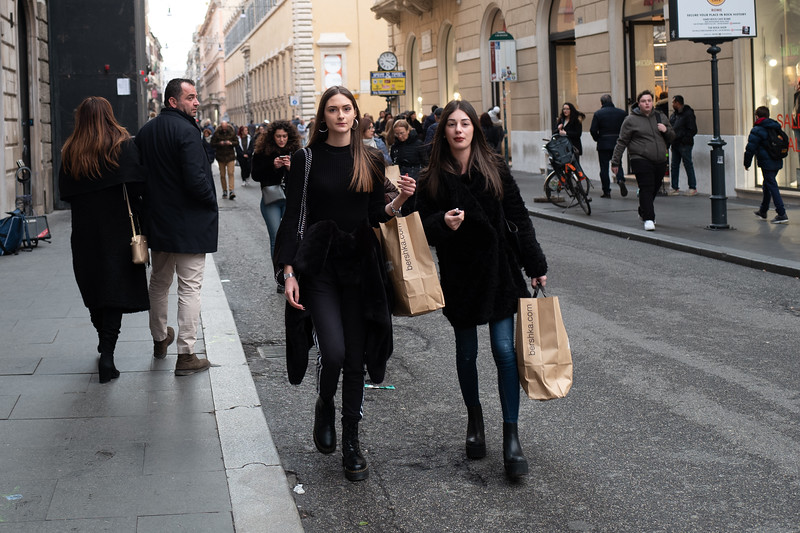 Rome - winter shopping