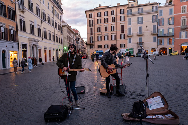 Rock at the Spanish Steps