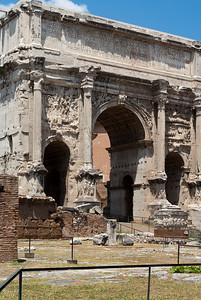 Forum Romanum, Arco di Settimio Severo