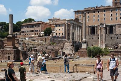 Forum Romanum, overall view