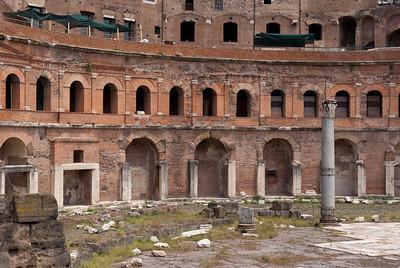 Forum Traiani, market